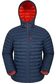 b8daff22e Down Jacket for Men TOG24 Hooded 800 Fill Coat Lightweight Men's ...