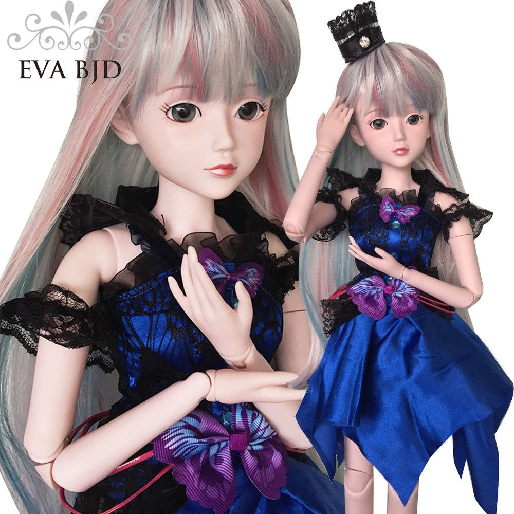 Fairy Light Diana 1/3 BJD Doll Girl 24 inch 60cm 19 jointed BJD dolls Full Set SD doll Toy Surprise Doll For Birthday Gift EVA BJD