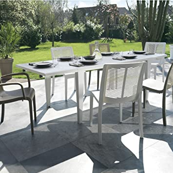 GROSFILLEX - Table de jardin Alpha 240: Amazon.fr: Jardin