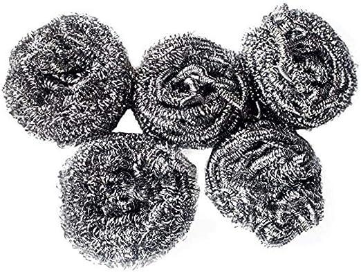 Onsinic Potente lavavajillas esponjas metálicas Conjunto de 5 ...
