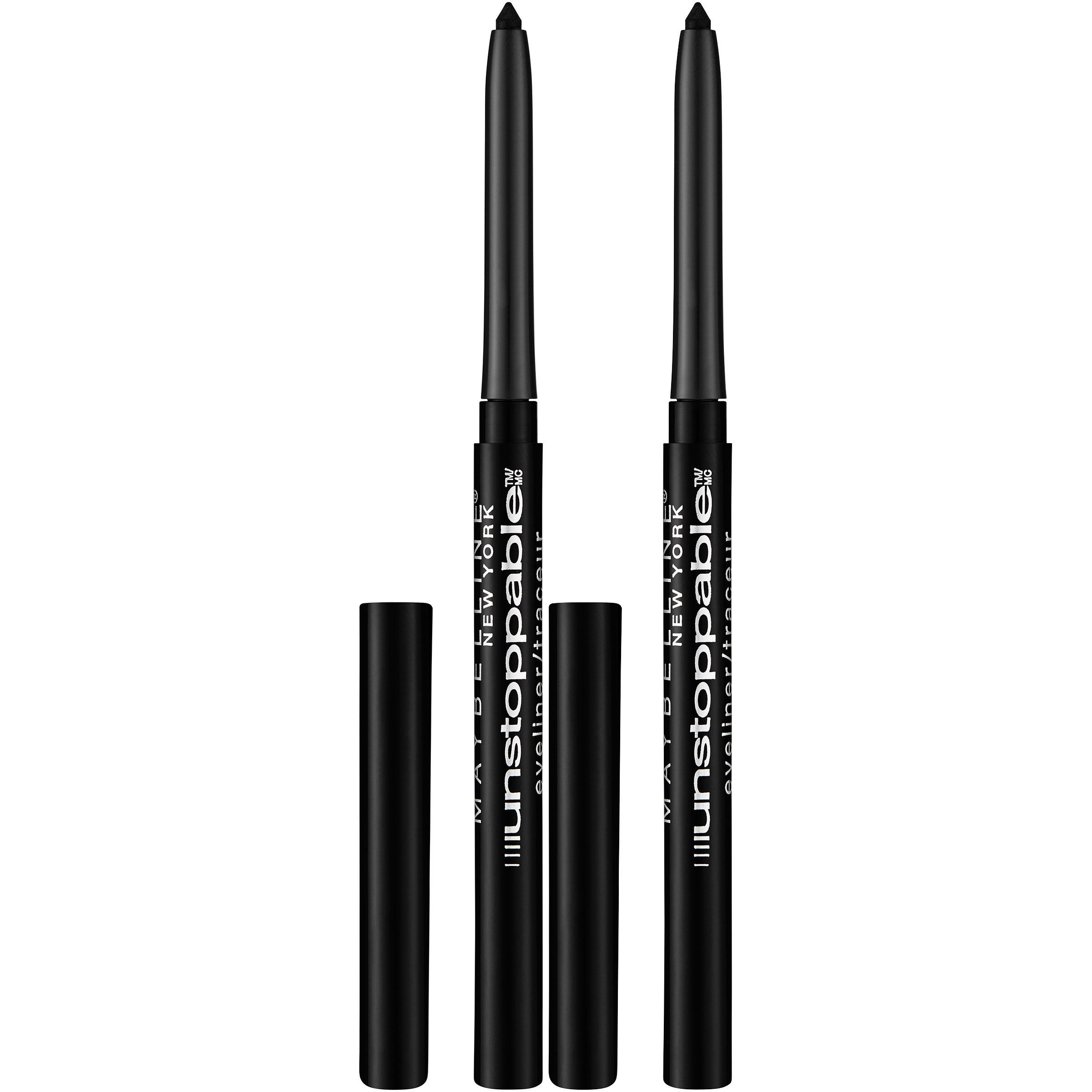 Maybelline New York Unstoppable Eyeliner Makeup, Espresso, 2 Count