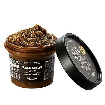 Skin Food 2015 New Black Sugar Perfect Essential Scrub 2X 7.41 Oz/210g Lierac Homme Eye Contour, Fatigue Smoothing Gel, 0.55 Oz (Pack of 4) + Schick Slim Twin ST for Sensitive Skin