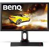 BenQ XL2720Z 68,58 cm (27 Zoll) Monitor (VGA, DVI-DL, HDMI inkl. HDCP, USB up, USB down, 144Hz, NVIDIA 3D vision 2-ready, 1ms Reaktionszeit) schwarz/rot