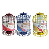 Set of 3 x Kingfisher Squirrel Proof Bird Feeders - Nut, Seed & Fat Ball