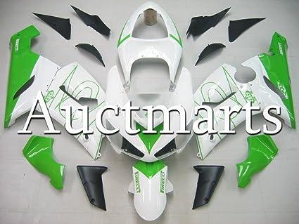 Amazon.com: For Kawasaki Ninja ZX-6R 2005-2006 05-06 Fairing ...