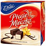 Ptasie Mleczko Chocolate Covered Vanilla Marshmallow 13.4 Oz (Pack of 2)