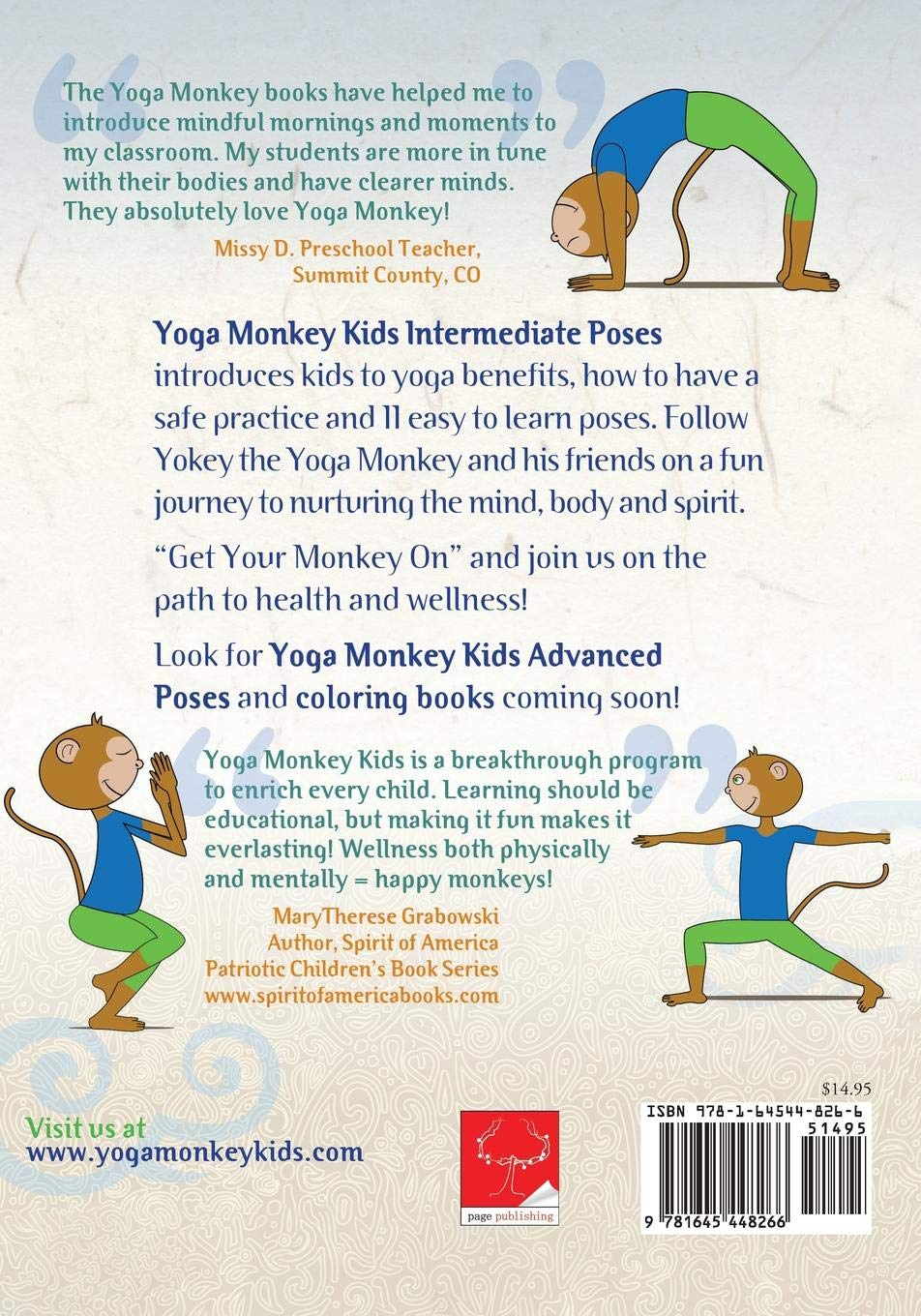 Yoga Monkey Kids Intermediate Poses: Candace Stromberg ...