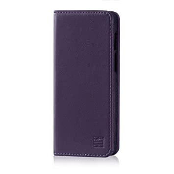 ab0a61384a31 32nd Classic Series - Real Leather Book Wallet Case Cover for Motorola Moto  Z3 Play,