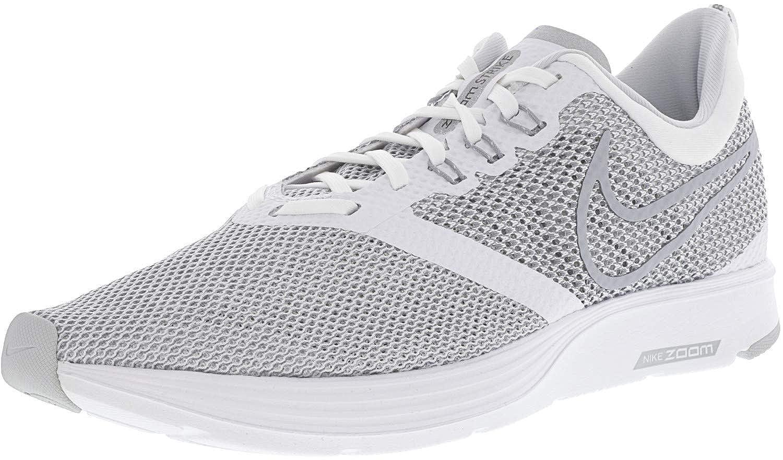 Blanc (blanc Wolf gris 001) Nike Zoom Strike, baskets Basses Homme 42.5 EU