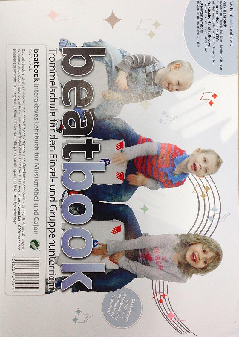 baff Musikmö bel 711 Beatbook interaktives Lehrbuch mit 2 Lern-CDs und Notensymbolen fü r Musikmö bel/Cajon baff GmbH