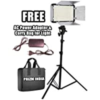 Simpex Professional 400 Led Video Light kit with Battery and Charger | Simpex Light Stand | Simpex Umbrella Mount | with Free AC/DC Power Adapter for Videography & Photography
