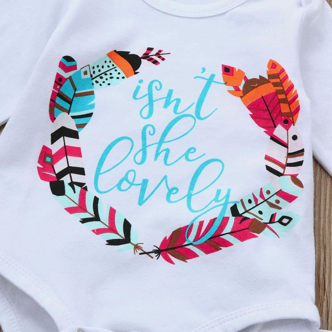 Memela Buy The Outfit Baby Girls Isnt She Lovely Outfits Clothes Set 0-18 Mos
