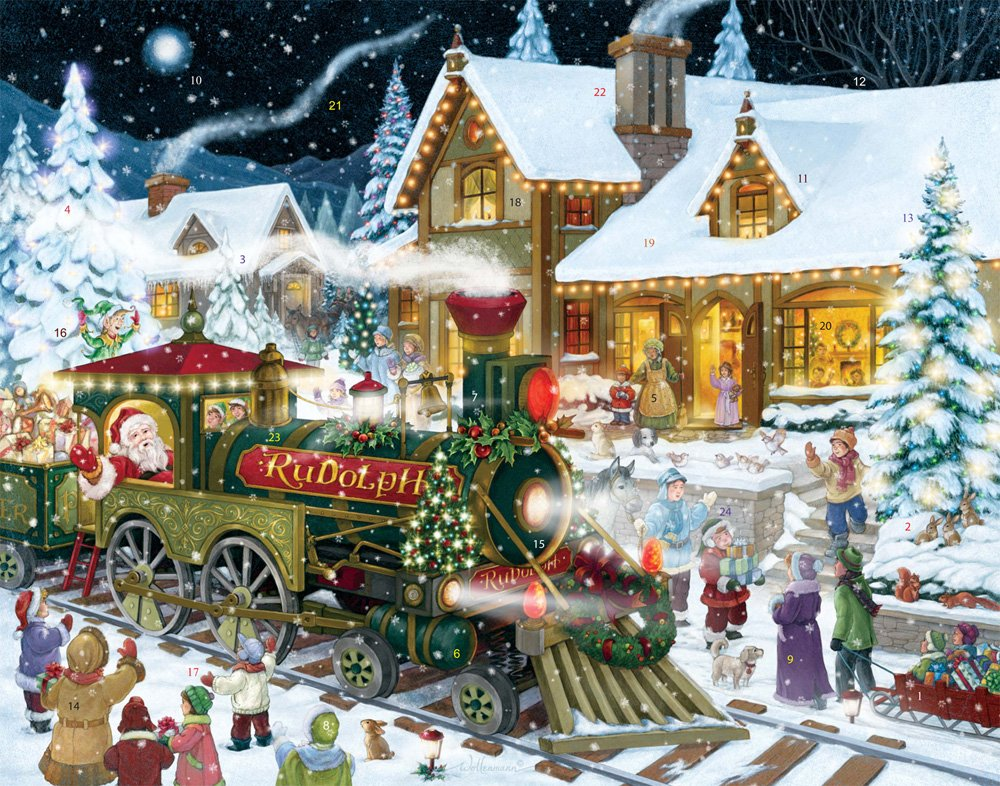 Whistle Stop Christmas Advent Calendar Vermont Christmas Company