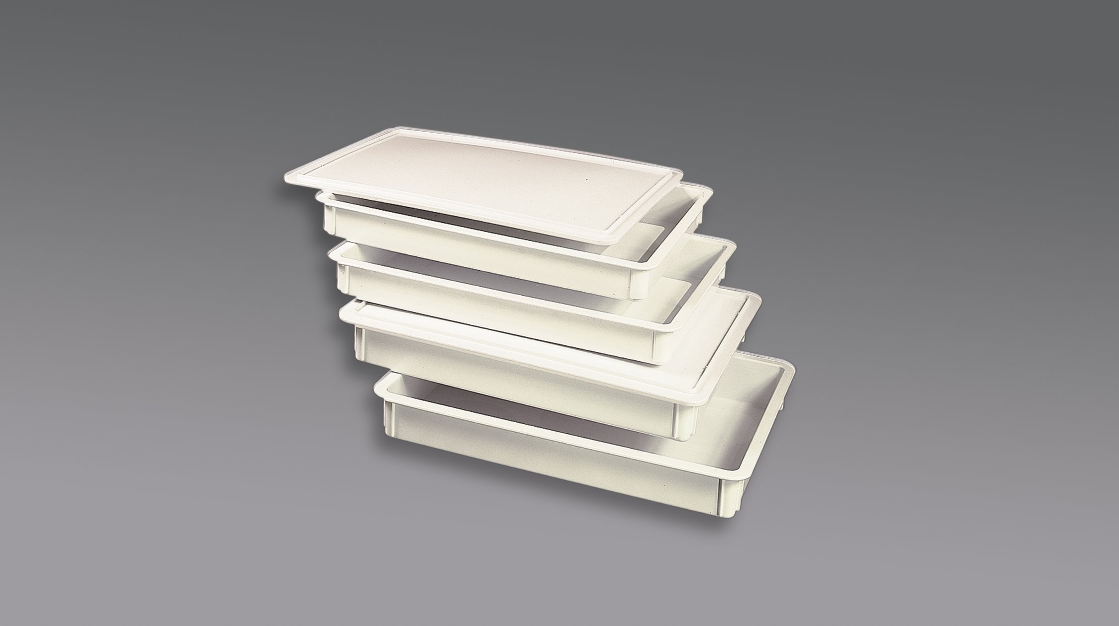American Metalcraft DRB18230 Dough Box, White, 26-Inches