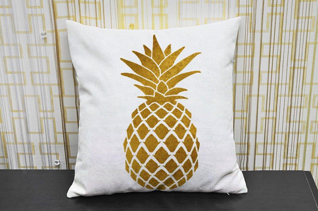 Garden Supplies Tropical Fruits Pineapple Pillow Cover Cases Gift Decor Emoji Kid Throw Massager Decorative Vintage Pillows Home Decoration To Enjoy High Reputation In The International Market Garden Pots & Planters