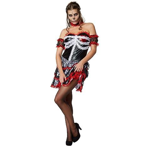 dressforfun 900418- Disfraz de Mujer Amante Espeluznante, Vestido ...
