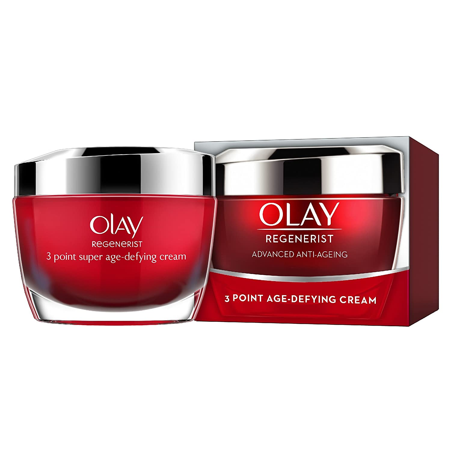 Olay Regenerist 3 Point Firming Anti-Ageing Night Cream Moisturiser, Firms Skin and Reduces the Look of Wrinkles, 50 ml Procter & Gamble 81513920
