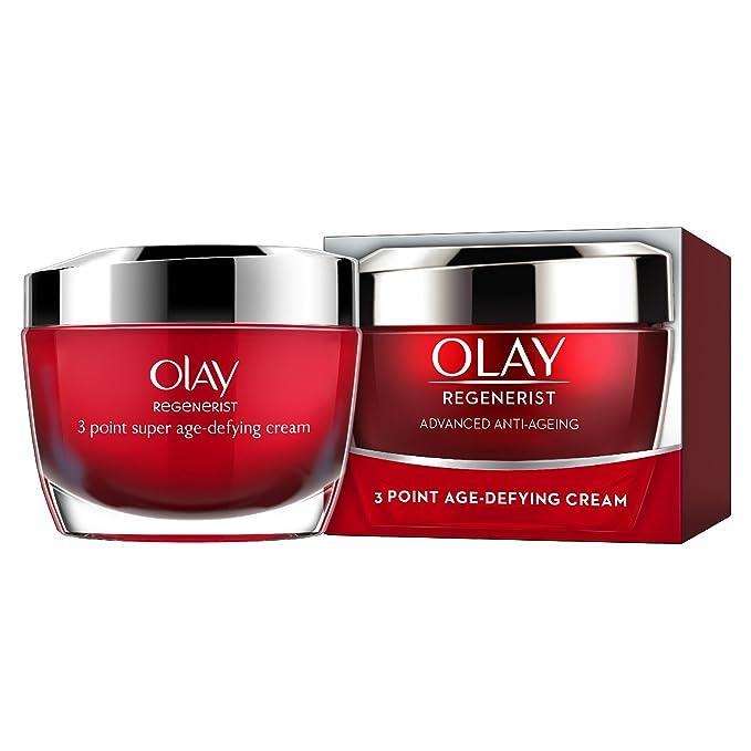 1 opinioni per Olay crema idratante per pelle in 3 punti, rassodante, anti-invecchiamento,