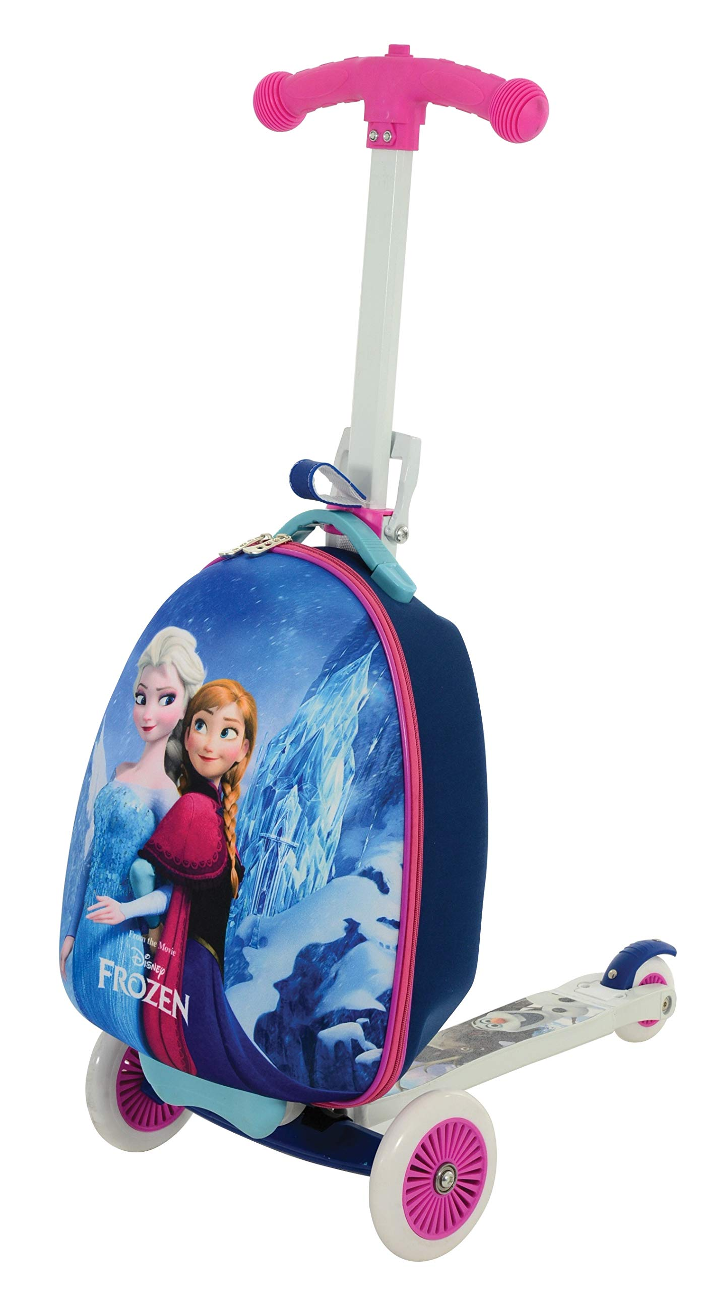 Disney Frozen 3-in-1 Scootin' Suitcase MV Sports Ages 3 Years+ by MV Sports
