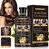 Hair Growth Shampoo,Anti-Hair Loss Shampoo,Hair Loss shampoo,Ginger Hair Care Shampoo Helps Stop Hair Loss,Promotes…