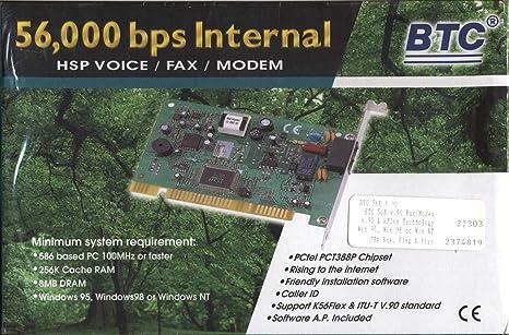 BTC V.90 K56FLEX MODEM WINDOWS 8.1 DRIVER