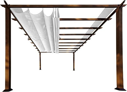 paragon-outdoor pr16wd2 W Backyard estructura suave Top con cedro canadiense marco Verona Pergola, 11