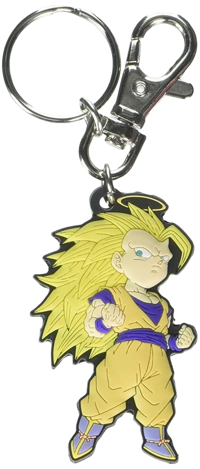 Dragon Ball Z: SD Goku Super Saiyan 3 PVC Keychain