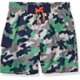Amazon Brand - Spotted Zebra Boys Swim Board Shorts