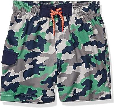 Amazon.com: Amazon Brand - Spotted Zebra Boys' Swim Board Shorts: Clothing