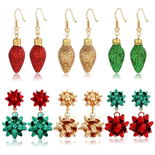 Female Bow Flowers Pearl Alloy Drop//Dangle Earrings Stud Charm Jewelry Colorful