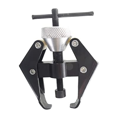 Battery Terminal Puller, Windshield Arm Puller, for Removing Stuck or Corroded Terminals and Windshield Wiper Arms, Adjustable Prongs, Extraction Screw, by Tech Team: Car Electronics