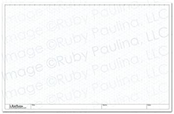 photograph about Isometric Graph Paper Printable called 11x17 Isometric Grid Pad, White (579680)