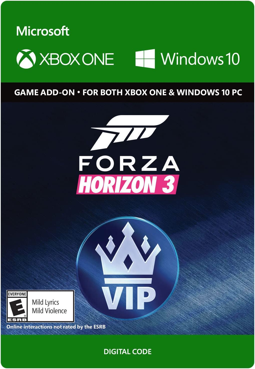 Amazon com: Forza Horizon 3 VIP - Xbox One / Windows 10