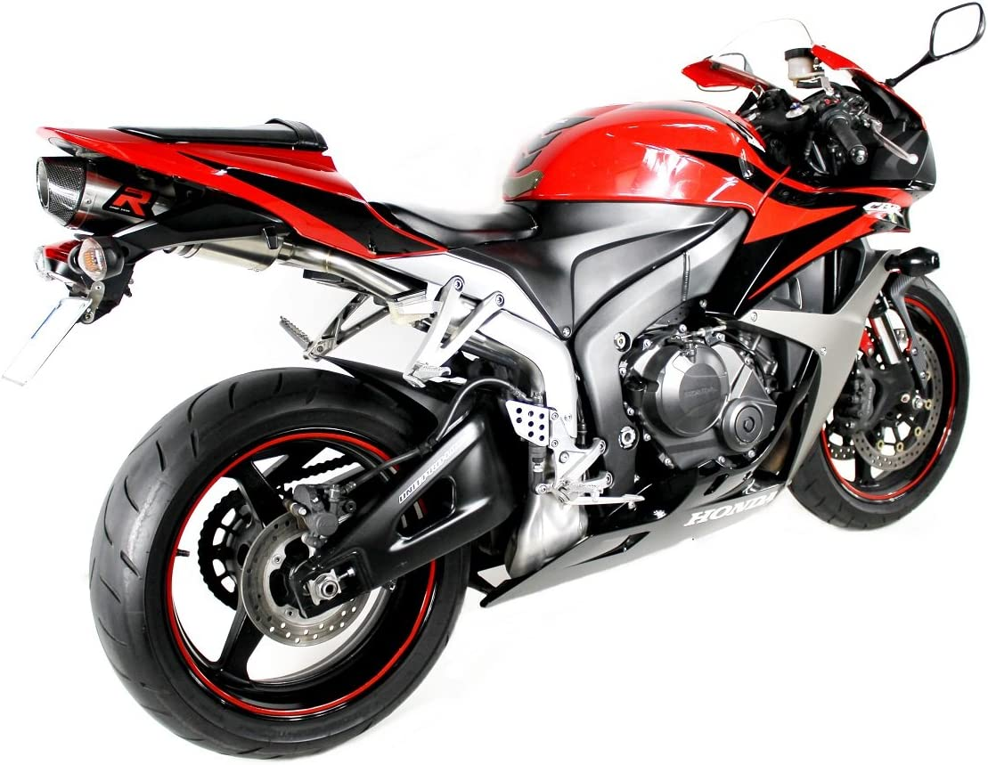 CBR 600 RR Escape Moto Deportivo HP2 Carbon Silenciador Dominator Exhaust Racing Slip-on 2007 2008 2009 2010 2011 2012