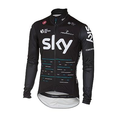 Castelli 2017 Mens Team Sky Pro Fit Light Rain Jacket ...