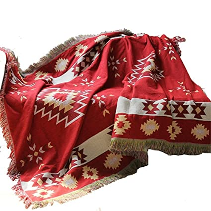 ZHguatan Tapiz Sofá Toalla Colgantes de Pared Simple Simple Moderno Estilo nórdico Rojo para manteles Sábanas