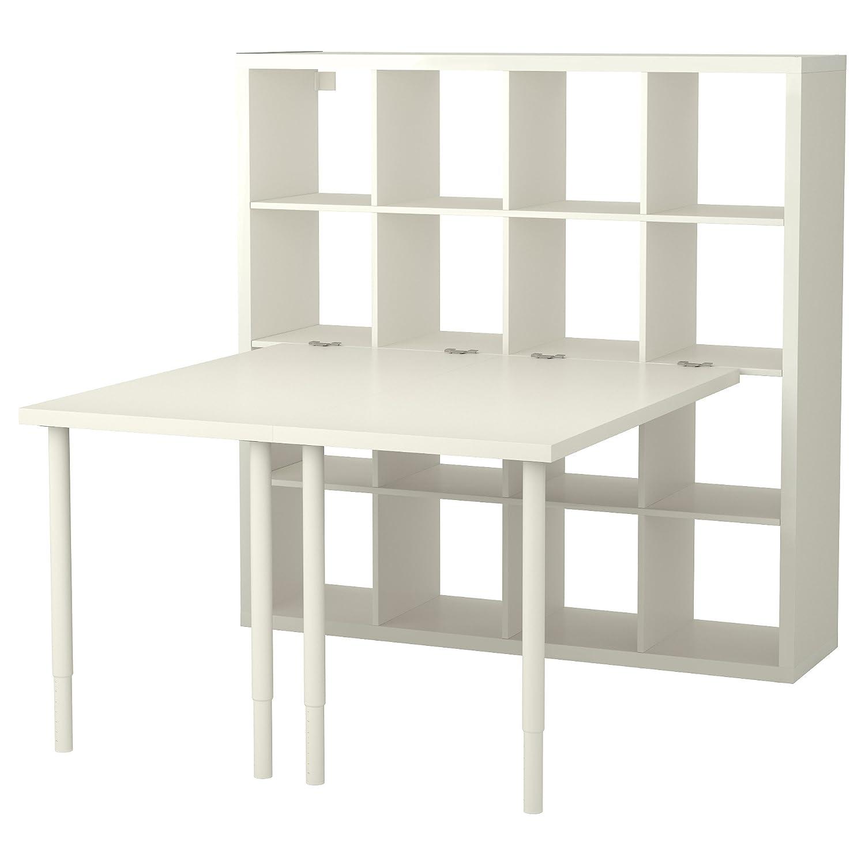 Zigzag Trading Ltd IKEA Kallax - combinación de Escritorio Blanco ...