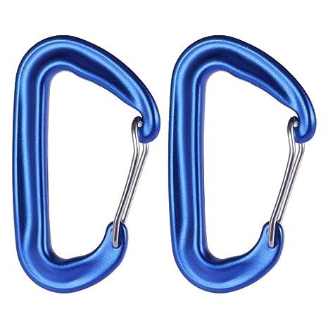 Vosarea 2 UNIDS Aleación De Aluminio Anillo D Mosquetón Clip ...