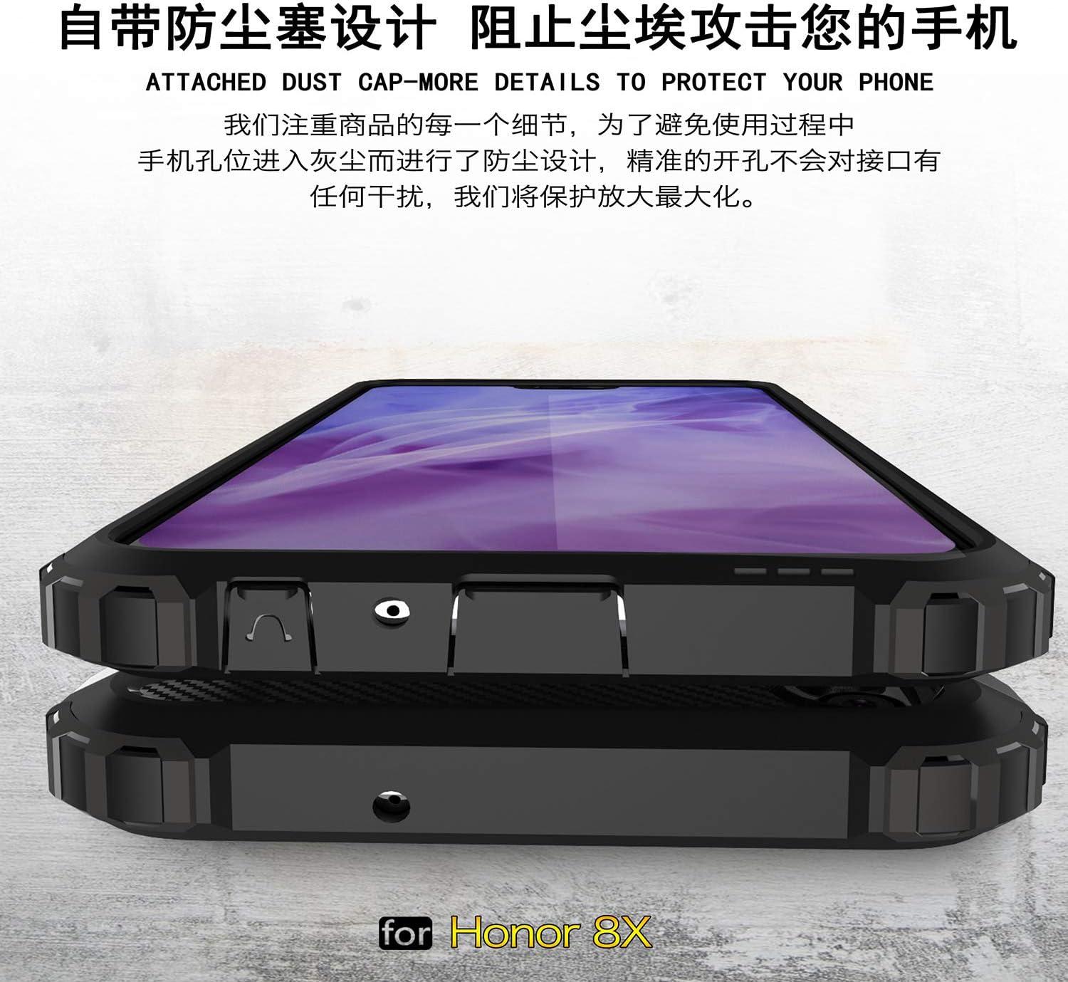 xinyunew Funda Huawei Honor 8X, 360 Grados Protección +Vidrio ...