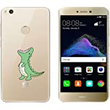 """Huawei P8 Lite 2017 Funda , TUTUWEN Transparente Silicona TPU de Flexibilidad Carcasa Case Bumper Ultra Delgado Espalda Case Cover para Huawei P8 Lite 2017) 5.2"""""""