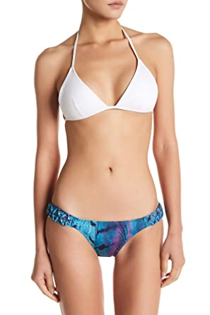 54403d7ba1690 Amazon.com: Despi Swimwear Aruba Macrame Bikini Bottom for Women in Blue,  Medium: Clothing