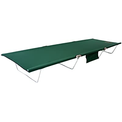 "BYER OF MAINE, TriLite Cot, Very Compact When Folded, Set Up 74""L X 25""W X 8"", Camping Cots for Adults, Portable Cot, Tri Lite Cot, Cot, Lightweight Cot, Outdoor Cot, Foldable Cot, Single: Sports & Outdoors"
