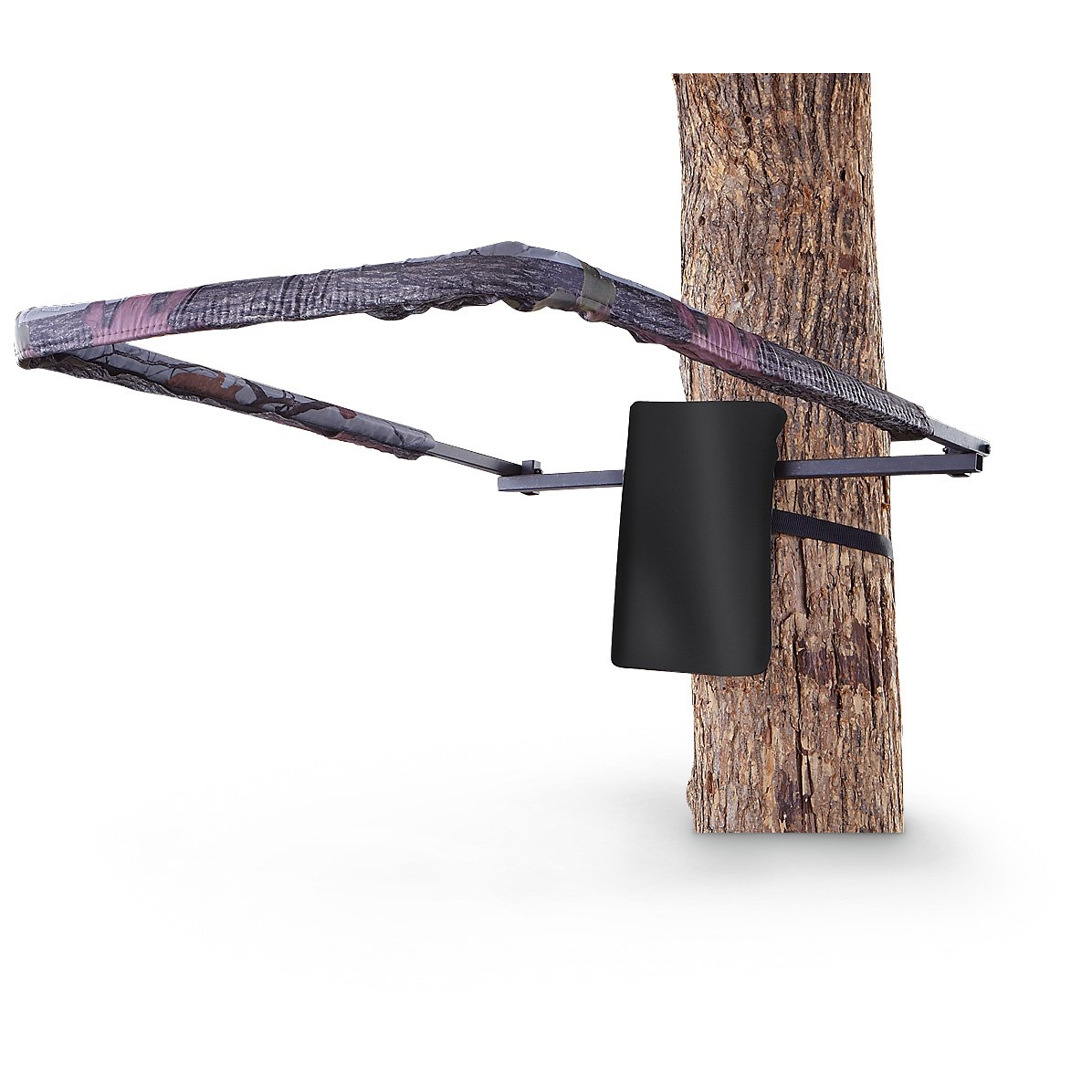 Redhead tree stand shooting rail