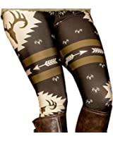 Elaco Leggings, Women New Design Elk Deer Skinny Printed Stretchy Pants Leggings