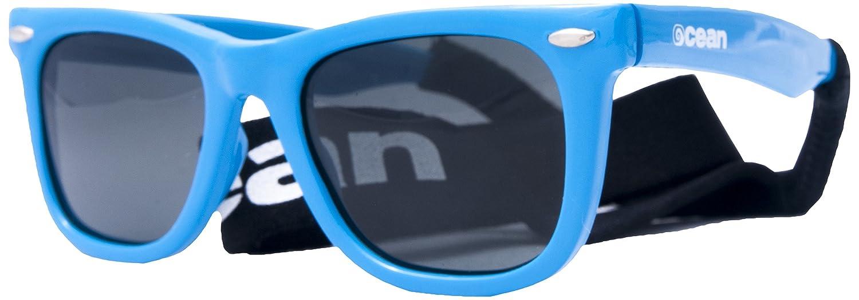 OCEAN SUNGLASSES - Cape Town - lunettes de Soleil polarisÃBlackrolles - Monture : Blanc LaquÃBlackroll - Verres : FumÃBlackrolle (17100.3) 17100.3_blanco