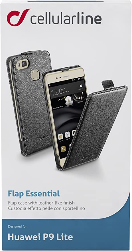 Cellularline Flap Essential Cover Case for Huawei P9 Lite