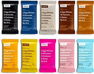 product image for RXBAR, Best Seller Variety Pack, Protein Bar, Gluten Free, 1.83 Ounce (Pack Of 30)