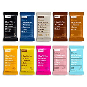 RXBAR, Best Seller Variety Pack, Protein Bar, Gluten Free, 1.83 Ounce (Pack Of 30)