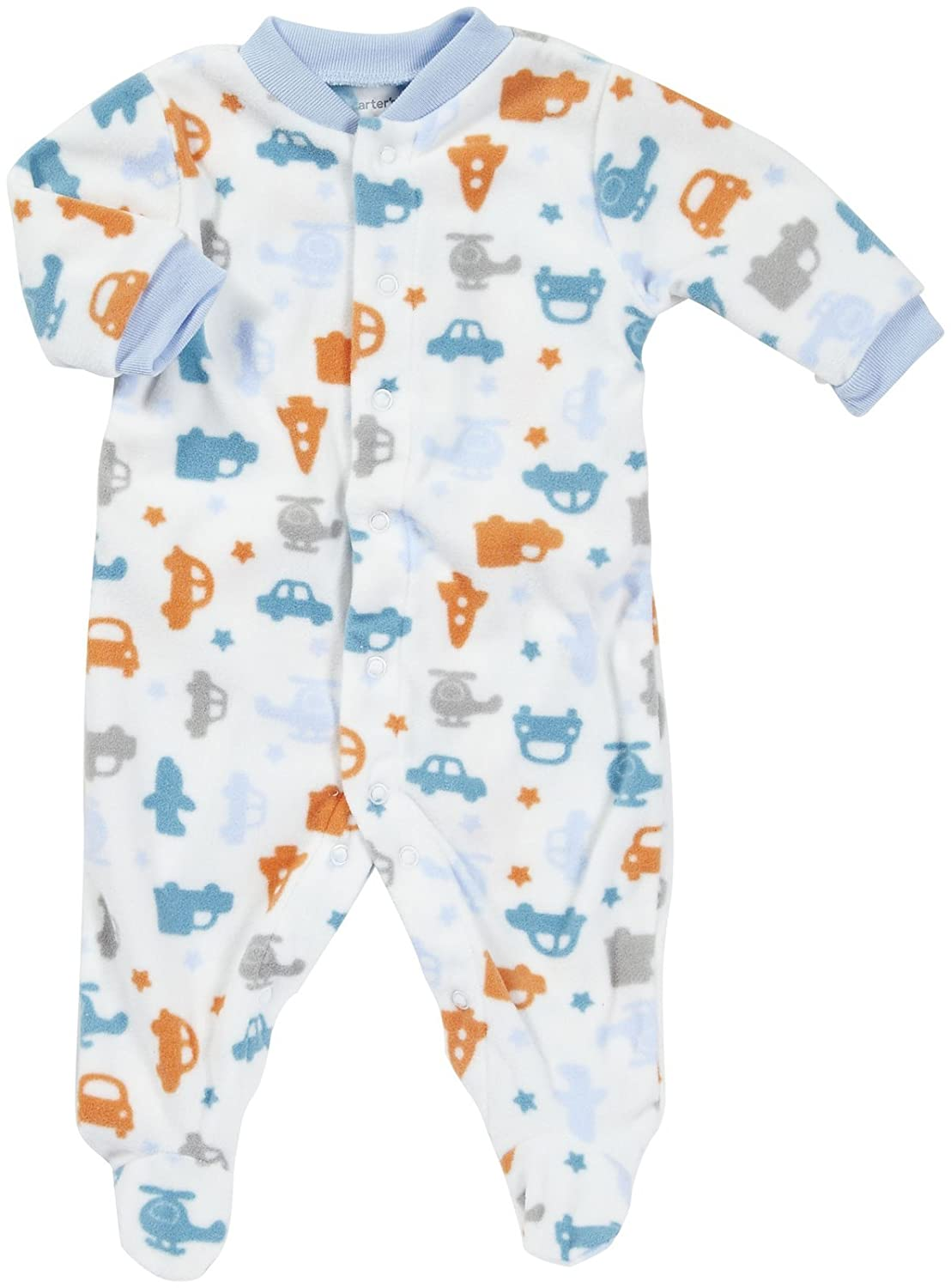 Carters Micro Snap 3 Months Multi Transportation