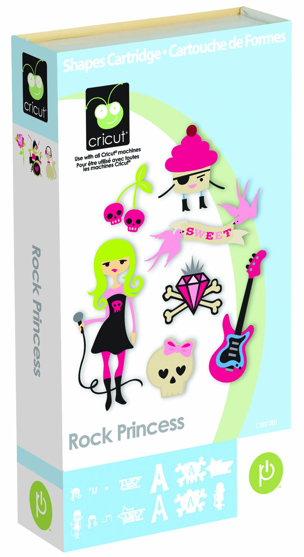 Cricut Cartridge Rock Princess Shapes